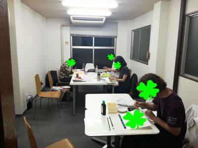 【活動報告】仕事後はアート活動☆新宿 もくもくアート会 vol.5