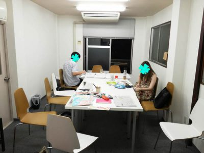 【活動報告】仕事後はアート活動☆新宿 もくもくアート会 vol.6