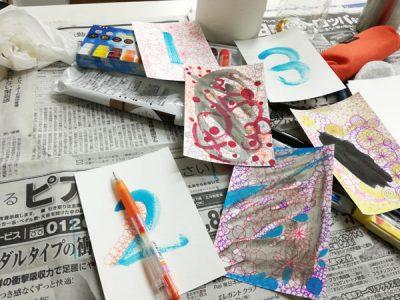 【活動報告】仕事後はアート活動☆新宿 もくもくアート会 vol.8