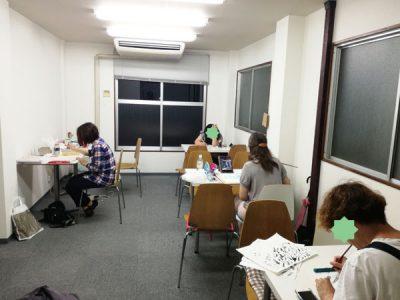【活動報告】仕事後はアート活動☆新宿 もくもくアート会 vol.9