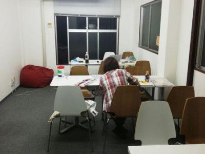 【活動報告】仕事後はアート活動☆新宿 もくもくアート会 vol.12