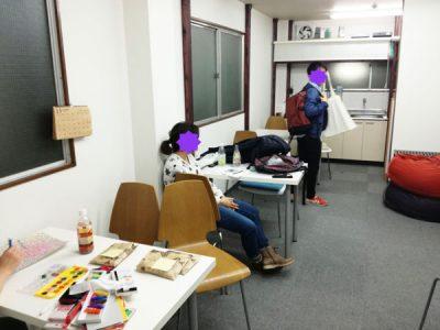 【活動報告】仕事後はアート活動☆新宿 もくもくアート会 vol.16