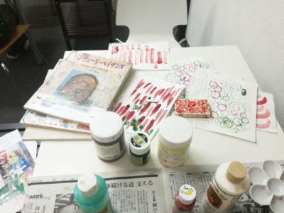 【活動報告】仕事後はアート活動☆新宿 もくもくアート会 vol.35