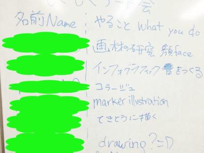 【活動報告】仕事後はアート活動☆新宿 もくもくアート会 vol.34