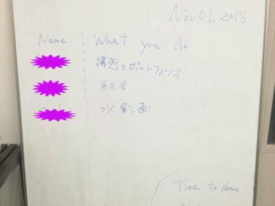 【活動報告】仕事後はアート活動☆新宿 もくもくアート会 vol.38