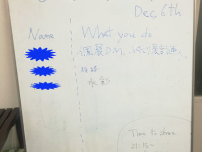 【活動報告】仕事後はアート活動☆新宿 もくもくアート会 vol.40