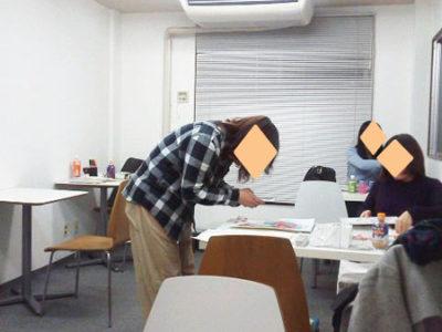 【活動報告】仕事後はアート活動☆新宿 もくもくアート会 vol.46
