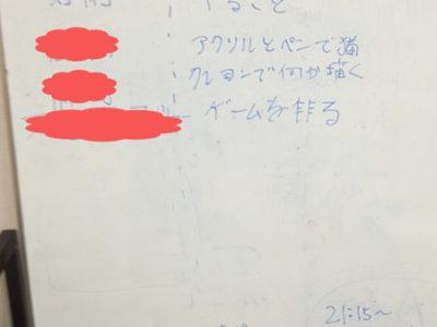 【活動報告】仕事後にアート活動☆新宿 vol.58 もくもくアート会
